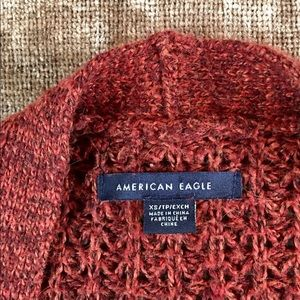 Oversized American Eagle Cardigan
